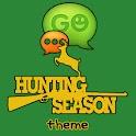 GO SMS Pro Hunting Season logo