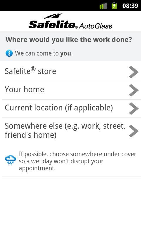 Safelite AutoGlass® - screenshot