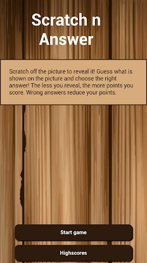 Scratch Answer