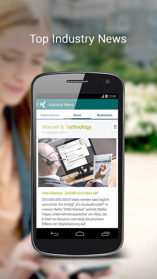 XING – Your business network - screenshot