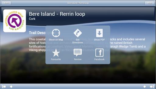【免費旅遊App】Irish Trails-APP點子
