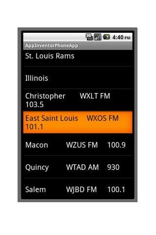 St. Louis Football Radio