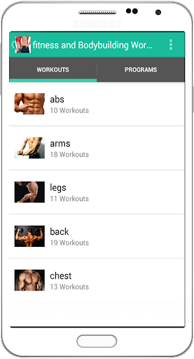 Fitness Bodybuilding Workout