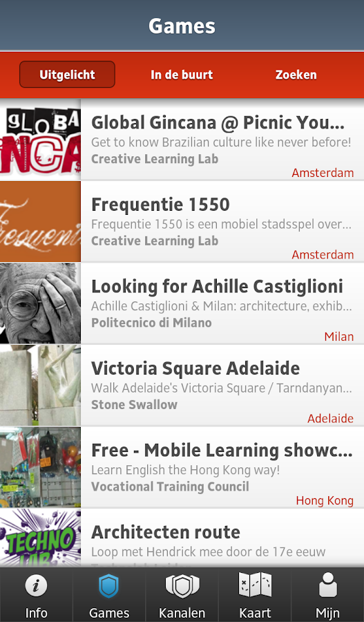 Mobile Learning Academy- screenshot