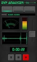 Screenshot of Ghost EVP Analyzer