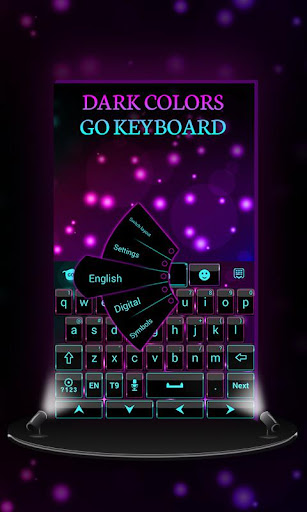 Dark Colors GO Keyboard Theme