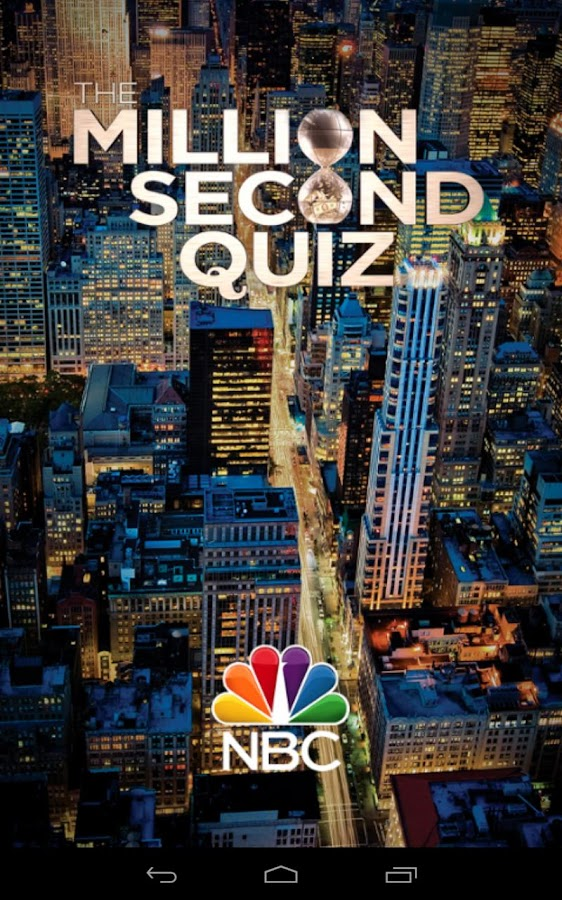 The Million Second Quiz - screenshot