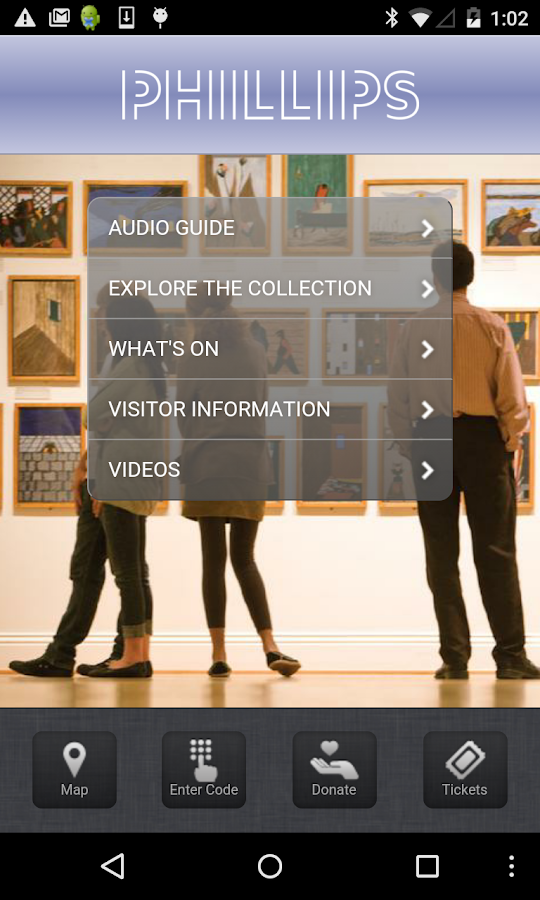 The Phillips Collection- screenshot
