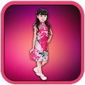 Baby Girl Suit Photo Camera icon