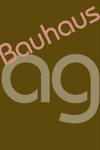 Bauhaus FlipFont- screenshot thumbnail