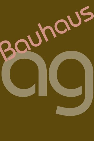 Bauhaus FlipFont - screenshot