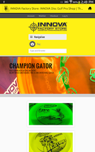 INNOVA Disc Golf Factory Store screenshot 4