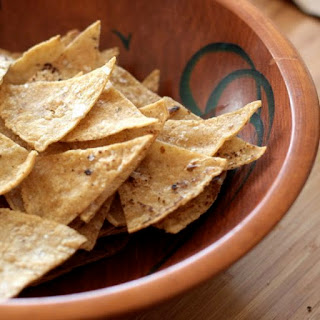 How To Make Healthier Tortilla Chips.