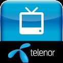 Mobil TV fra Telenor Danmark logo