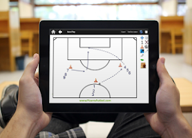 Screenshot of Soccer Board Tactics Free