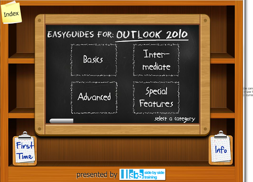 EasyGuides for Outlook 2010