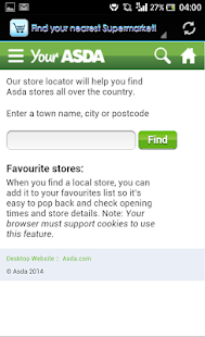 Supermarket Locator UK- screenshot thumbnail