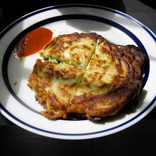 Korean-style Vegetable Pancakes.