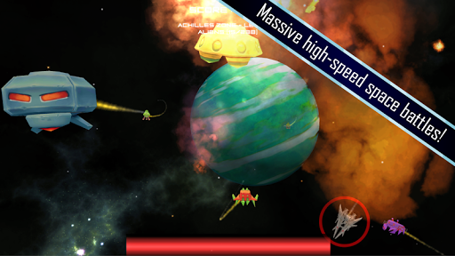Alien Annihilator Space Battle