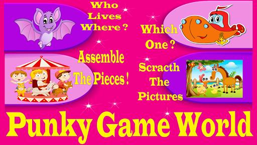 玩免費解謎APP|下載パンキッシュゲームの世界 app不用錢|硬是要APP