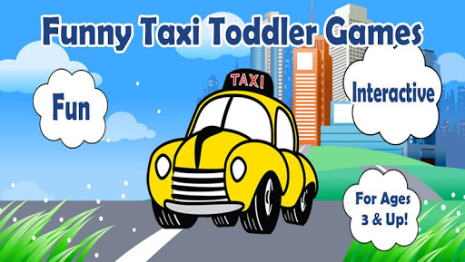 Funny Taxi Toddler Games