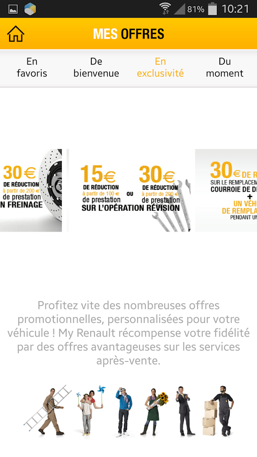 MyRenault - screenshot