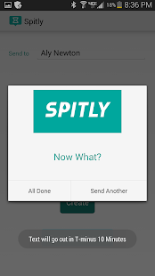 Spitly: Text Message Scheduler- screenshot thumbnail