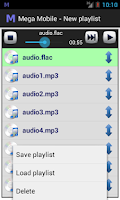 Screenshot of Mega Mobile Streaming