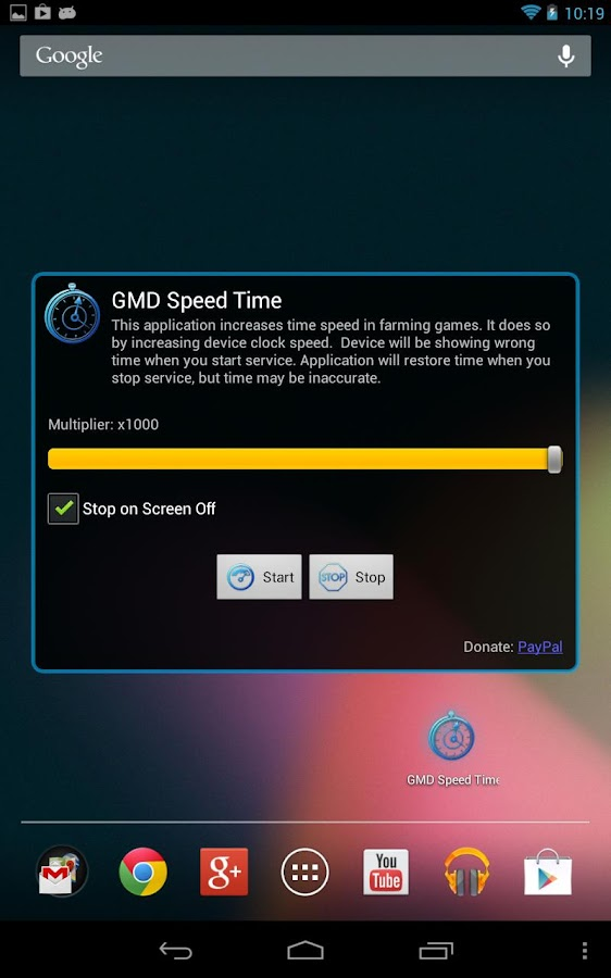GMD Speed Time ★ root- screenshot