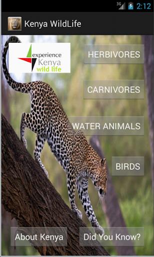 Kenya Wildlife App