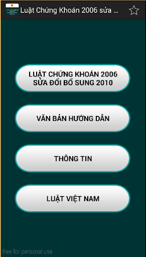 Luat Chung khoan Viet Nam 2006
