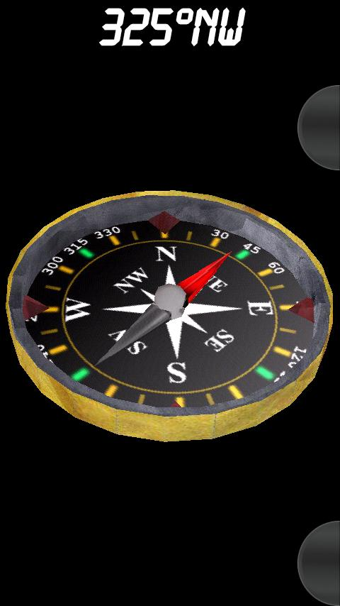 3D Compass - screenshot