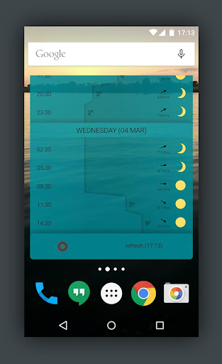 Detailed YR Weather Widget  screenshots 6