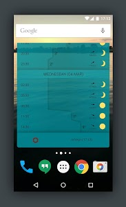 Detailed YR Weather Widget screenshot 5