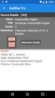 Screenshot of GedStar Pro Genealogy Viewer
