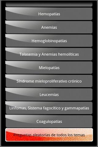 【免費醫療App】Hematología preguntas de exam-APP點子