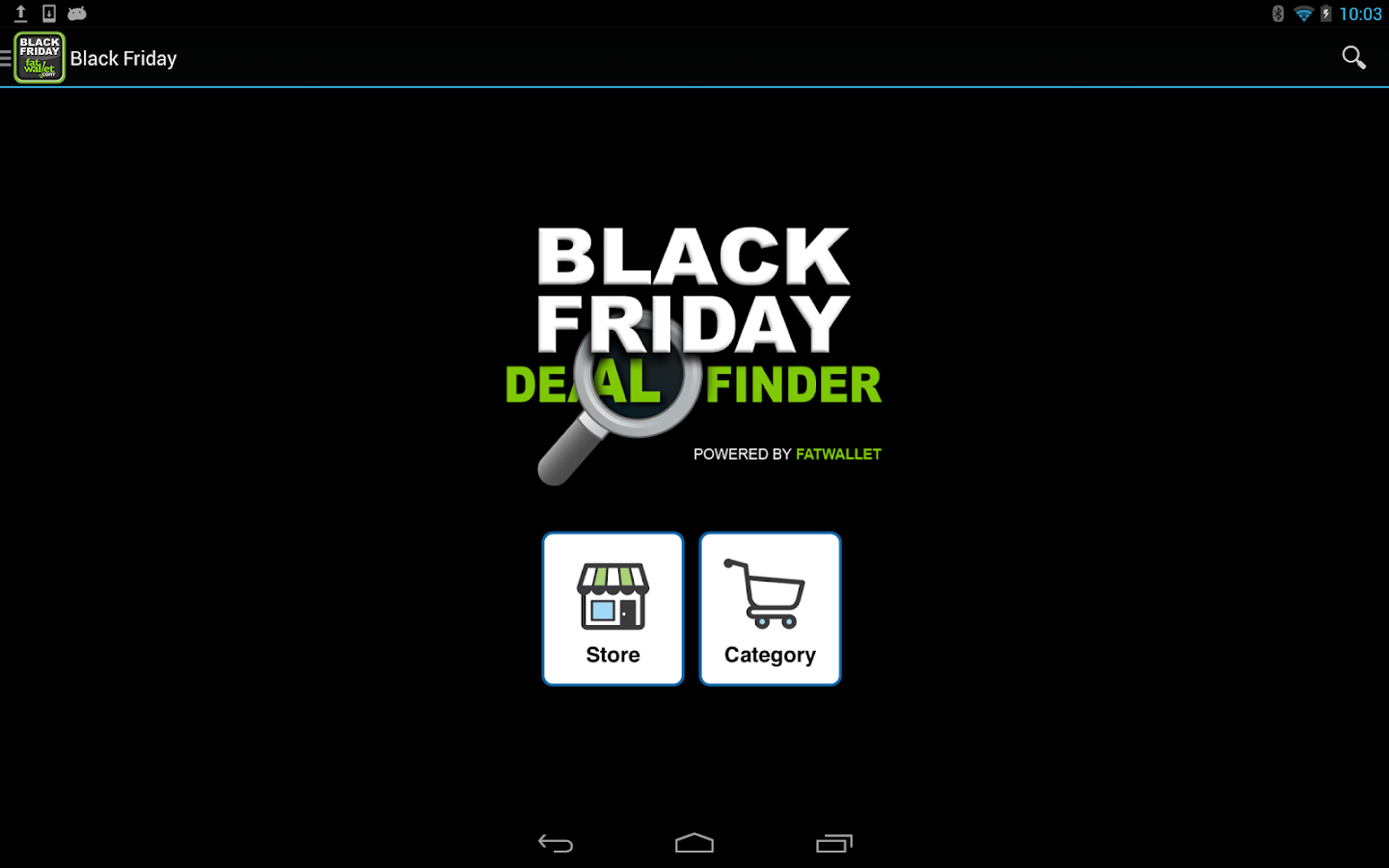 Black Friday Deal Finder - screenshot