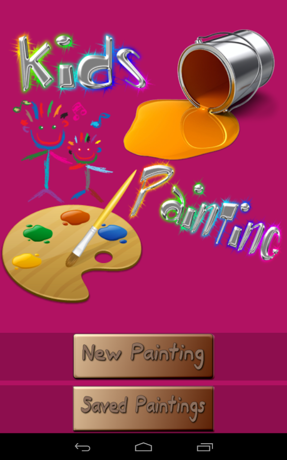 kids color kids paint free screenshot