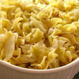 Haluski - Cabbage and Noodles