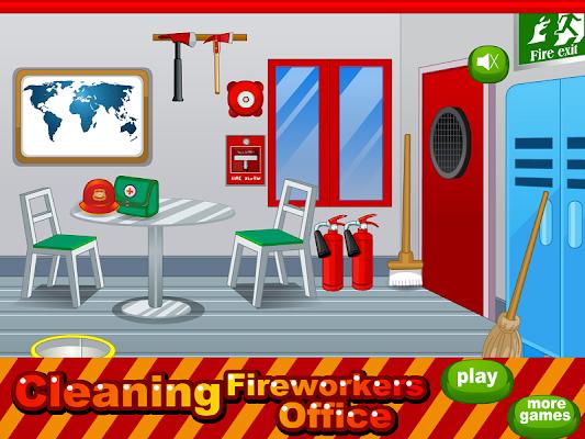 fireworkers office girls games - screenshot
