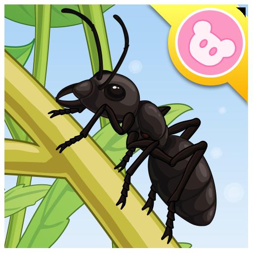 昆虫世界-蚂蚁 有趣的儿童互动绘本故事书 教育 App Store-癮科技App