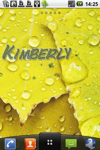 Kimberly Sticker - screenshot