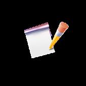 メモ帳のアプリ