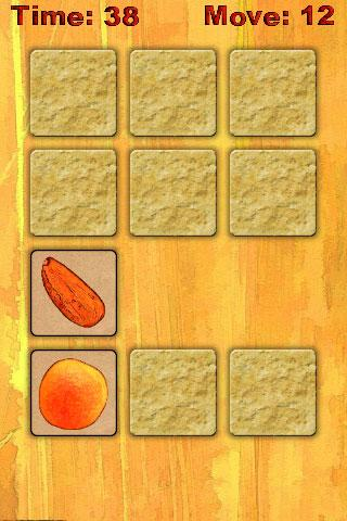 Fruit memory - screenshot