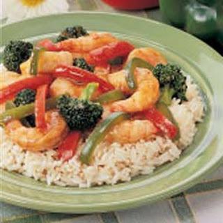 Shrimp Stir-Fry.