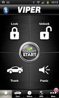 Screenshot of Viper SmartStart