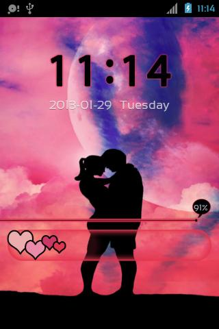 GO Locker Valentine Day- screenshot