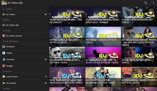 IDJ Videos Access