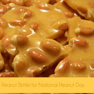 National Peanut Day- Classic Peanut Brittle