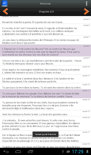 Bible en franu00e7ais Louis Segond  screenshots 12